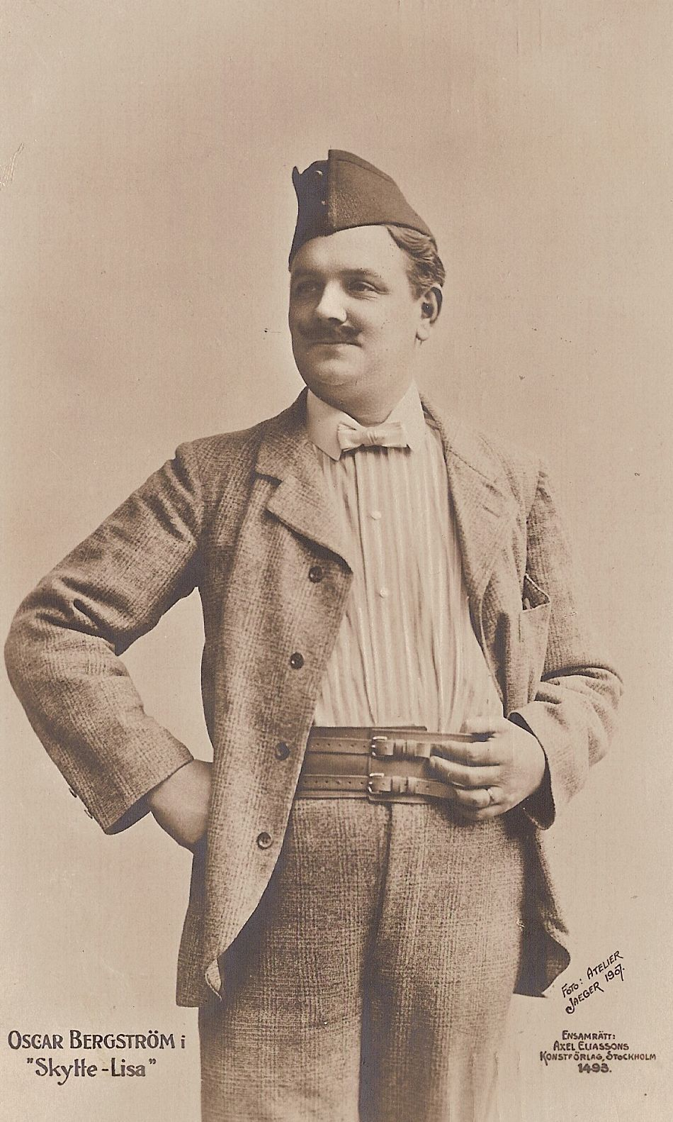SWEDISH TENOR OSCAR BERGSTRÖM (1874-1931) CD
