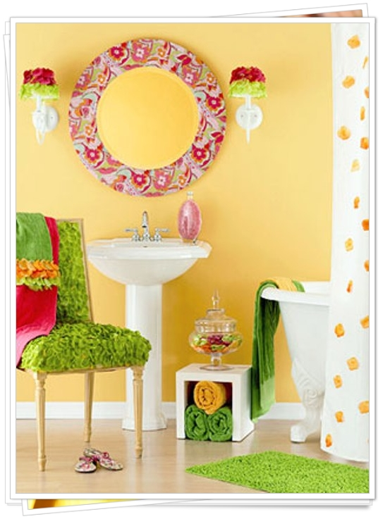 Love Sepphoras 8 Ideas Artistic Bathrooms In Warm Colors
