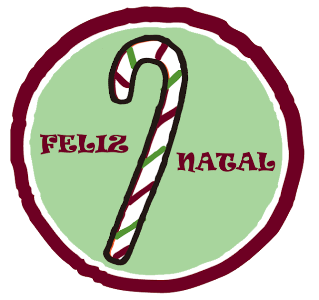 tag para presente de natal