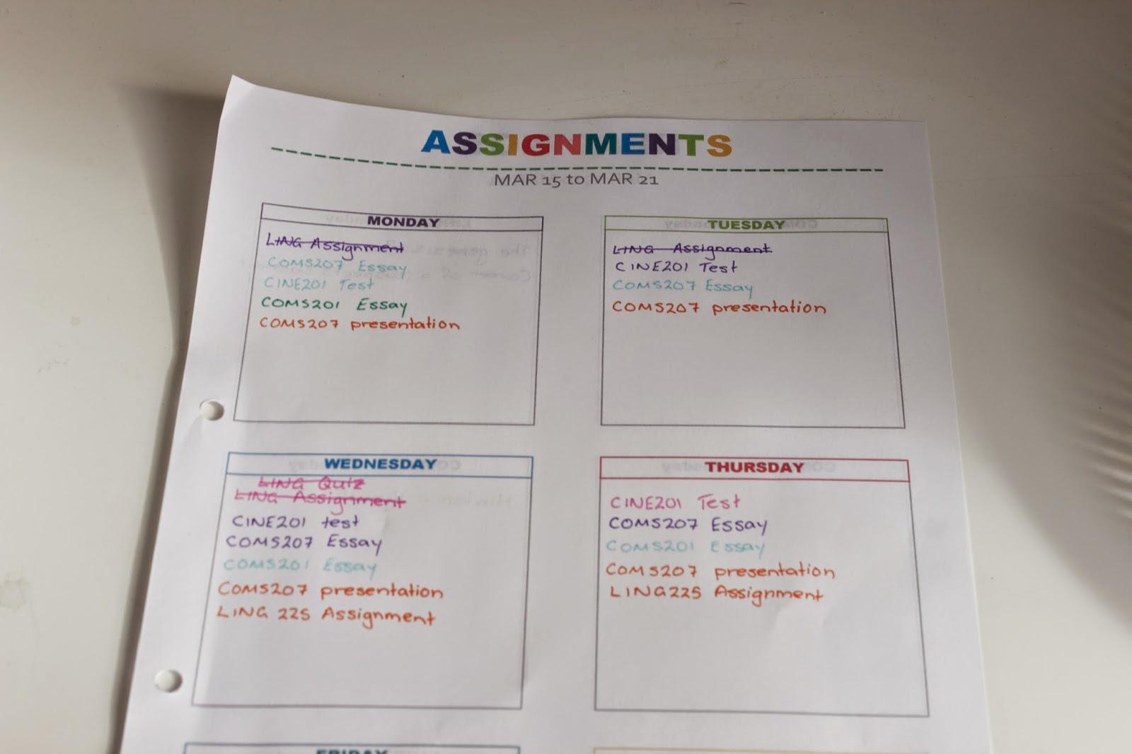 assignment com