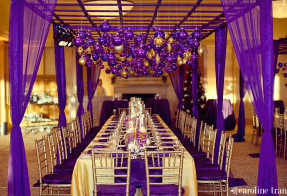 Purple Gold Royal Theme Babyshower 2 Thine own style be true