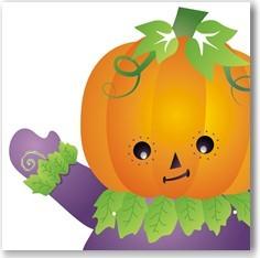 Calabaza de halloween infantil