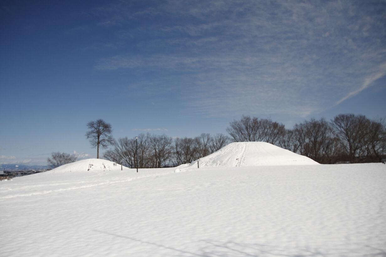 雪の皇子塚古墳