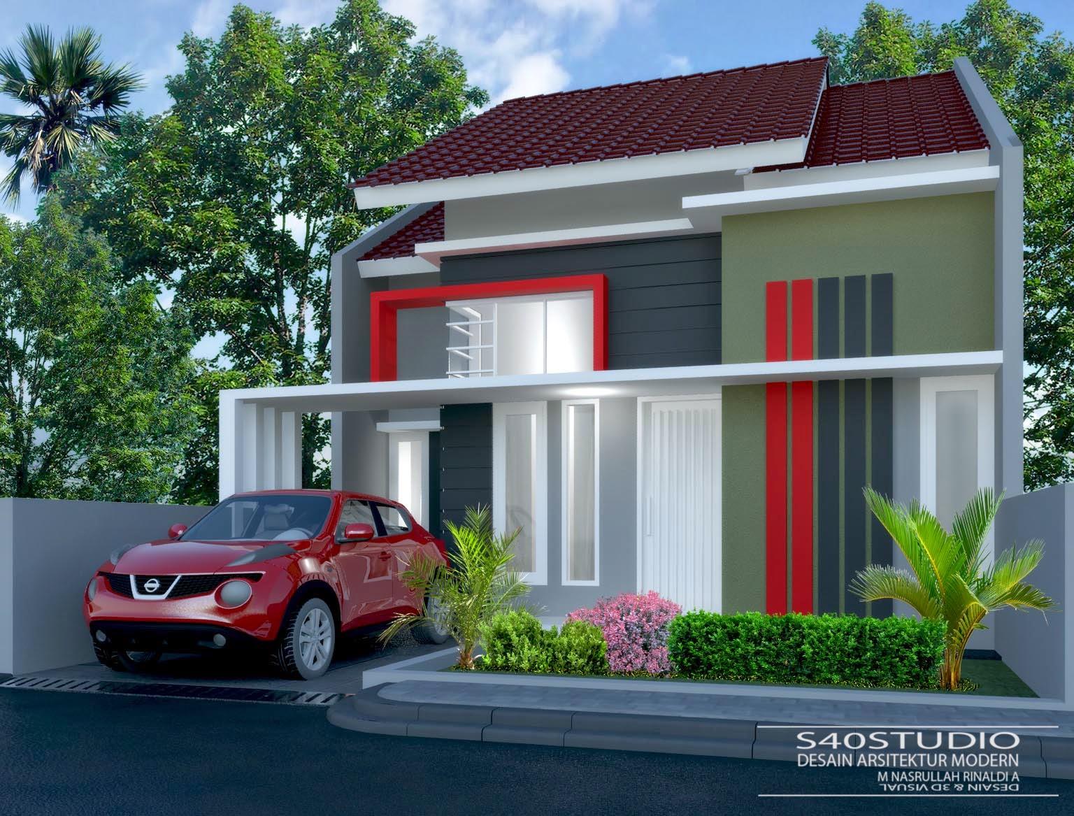 Desain Rumah 75 X 14 Meter DESAIN RUMAH MINIMALIS MODERN