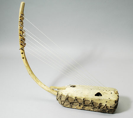 how to make an egyptian harp