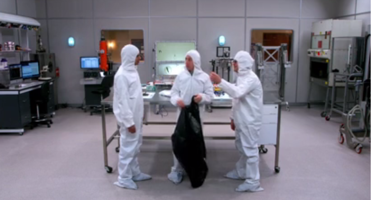 The Big Bang Theory - The Clean Room Infiltration - Review