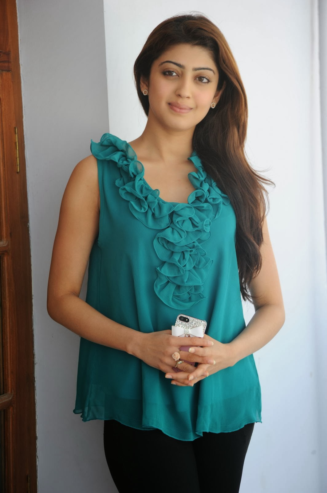 Praneetha Photos at Attarintiki Daredi Movie Interview, Actress