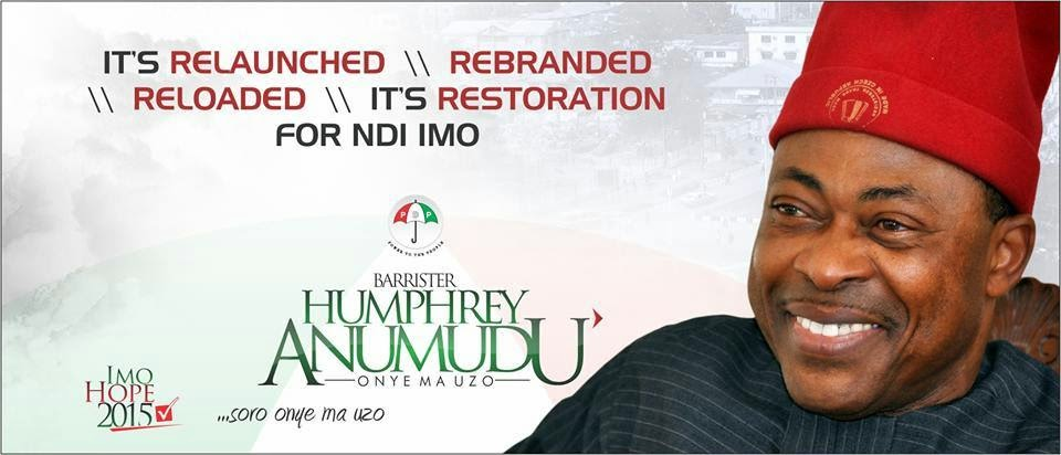 Vote Barrister Humprey as Imo state Governor