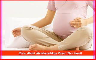 Cara Alami Membersihkan Pusar Ibu Hamil