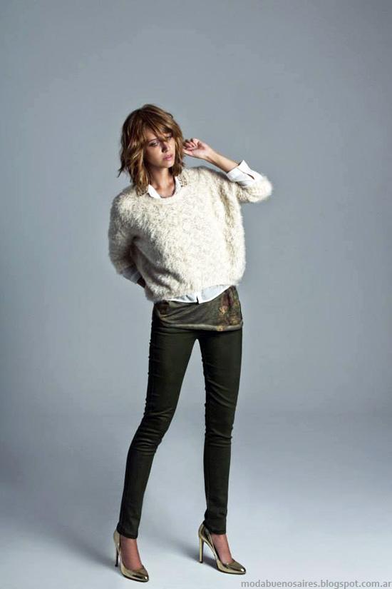Inedita invierno 2014 Sweater pelo de mono