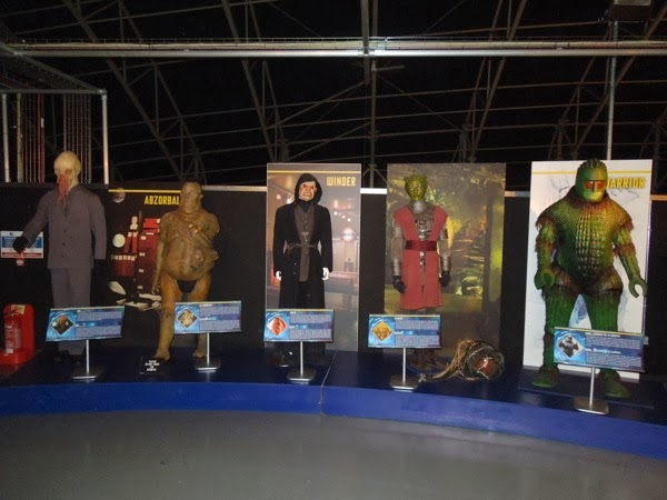 Doctor Who alien costumes