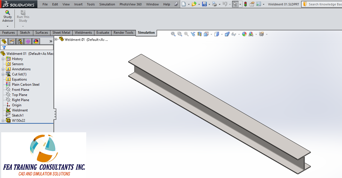 solidworks simulatio