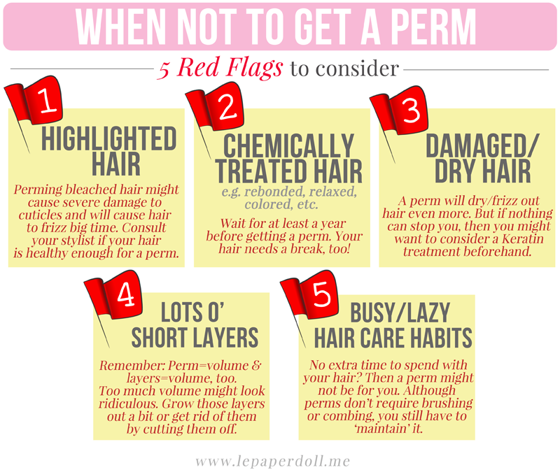Hair 101 To Perm Or Not To Perm Le Paper Doll