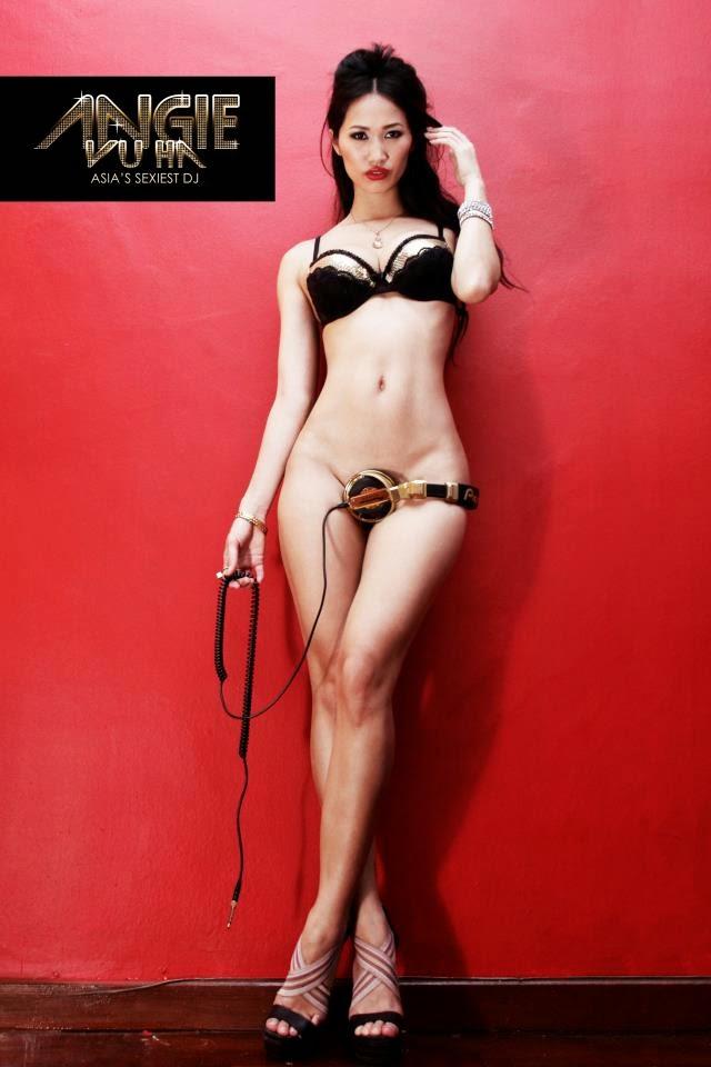 Bỏng mắt với ảnh nóng khoe hàng của DJ Angie Vũ Hà