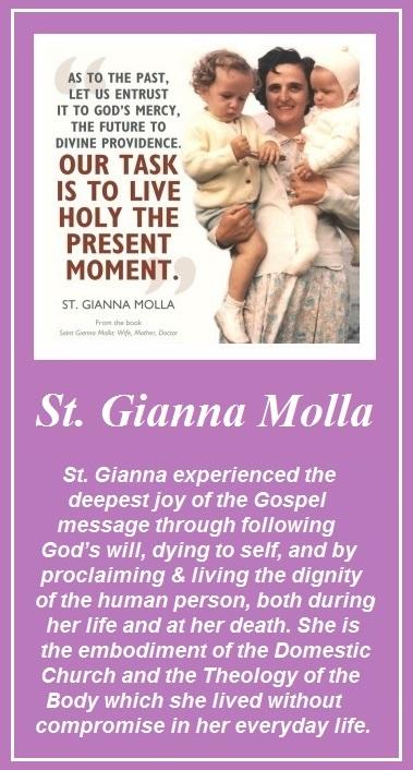 St. Gianna Molla short video