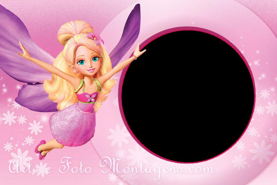 Barbie free printable photo frames oh my fiesta in - Marcos de papel para fotos ...