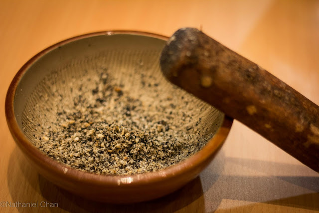 Sesame Seeds in YABU the House of Katsu