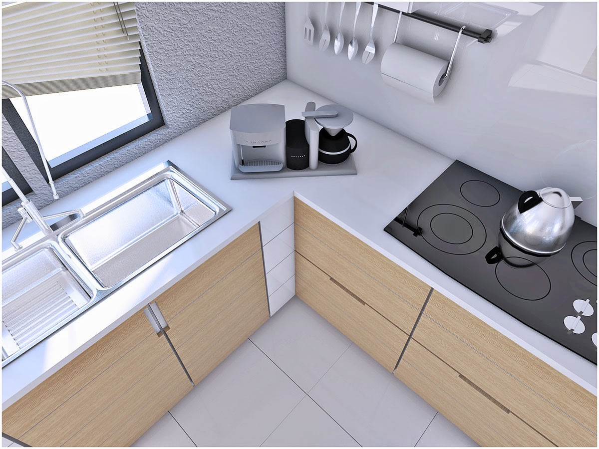 Kitchen Model sketchup texture: sketchup model kitchen