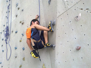 Afiq Wall Climbing