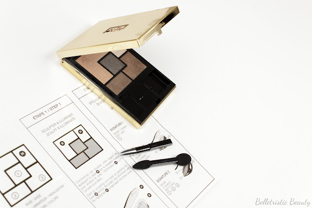 Yves Saint Laurent Fauves 2 Eyeshadow Couture Palette 5 Color Ready To Wear in studio lighting