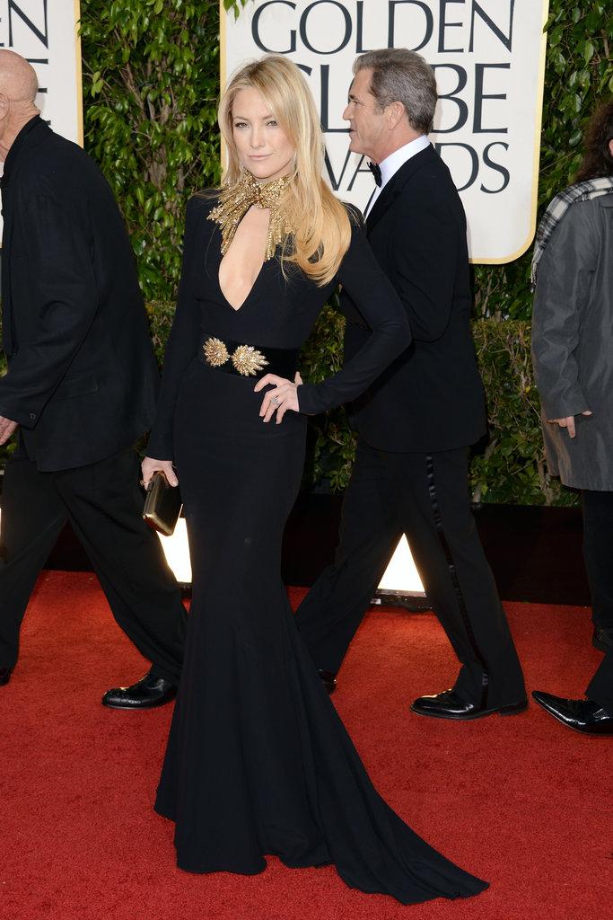 Celeb Diary: Kate Hudson @ 2013 Golden Globe Awards