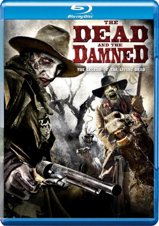 Filme Poster The Dead and the Damned BRRip XviD & RMVB Legendado