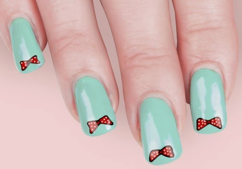 25 Adorable Bow Nail Art Designs To Die For Makeup Beauty Tips