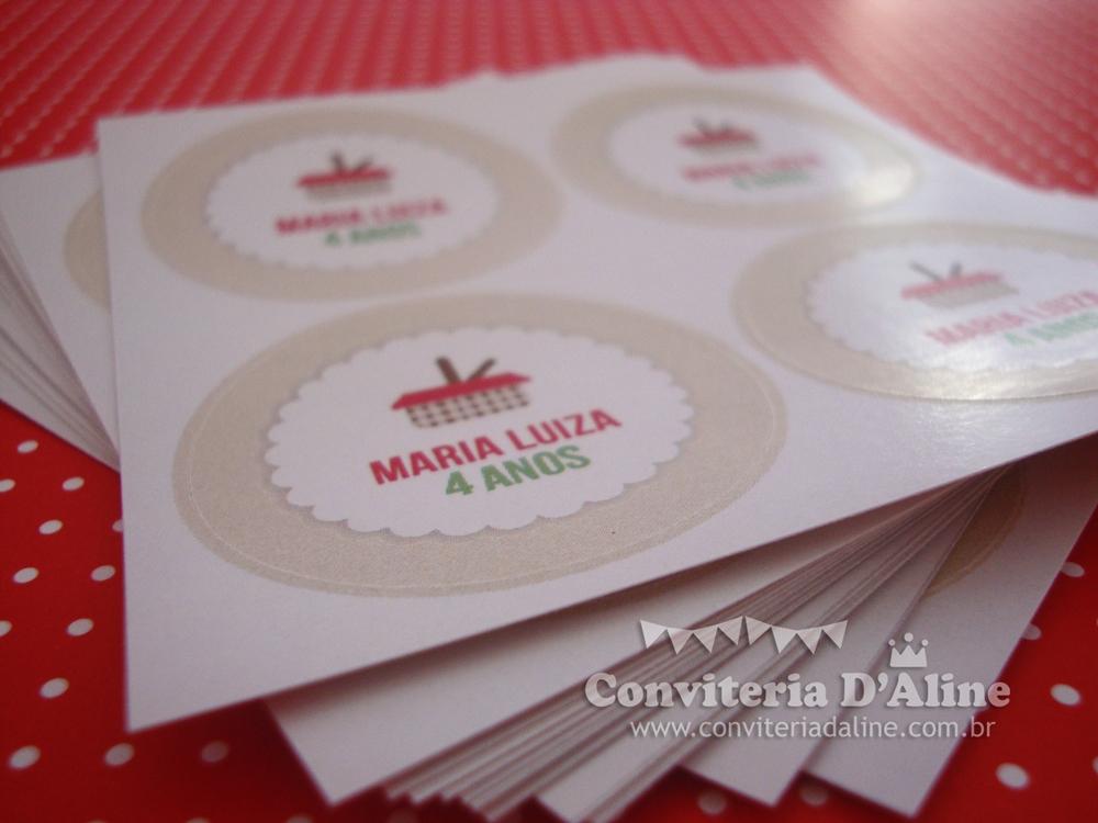adesivos personalizados chapeuzinho vermelho