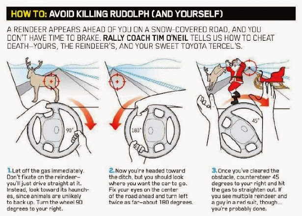 How To...Avoid Killing Rudolph (And Yourself)