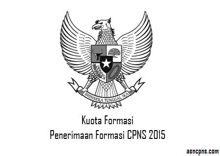 Kuota Formasi CPNS 2015