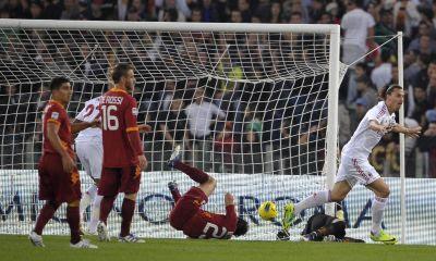 Roma Milan 2-3 highlights sky