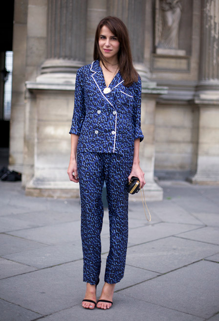 6daa1c67238 Pyjama dressing has become a phenomenon these past few seasons, with the  likes of Tommy Hilfiger, Celine and Stella McCartney boosting the two-piece  ...