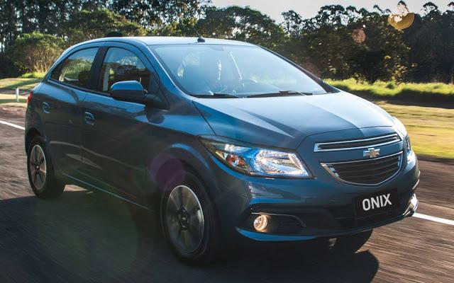 novo Chevrolet Onix 2014 dianteira