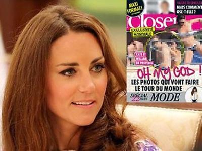 keping gambar 'topless' Kate Middleton cuba disebarkan