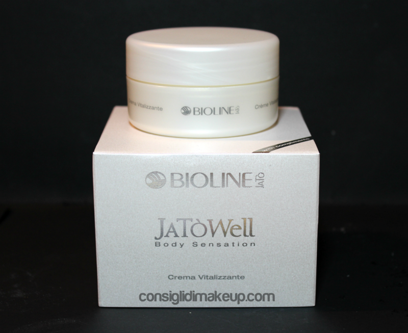 Review: Crema Corpo Vitalizzante JaTò Well Body Sensation - Bioline Jatò