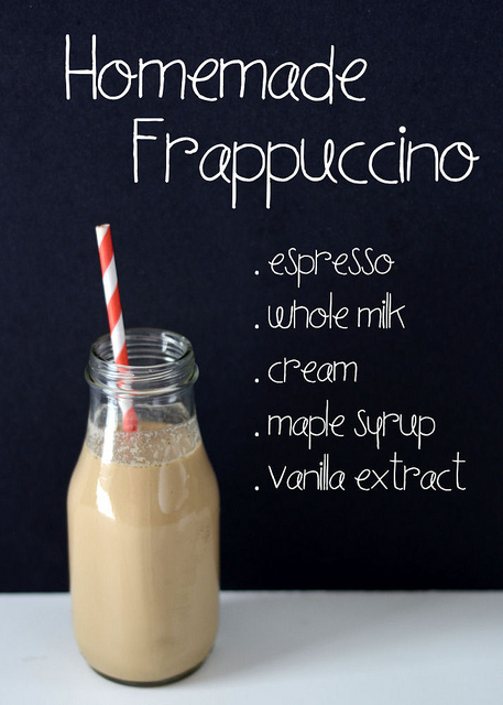 Homemade Frapuccino