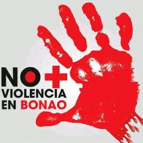 NO MAS VIOLENCIA, QUEREMOS VIVIR EN PAZ..