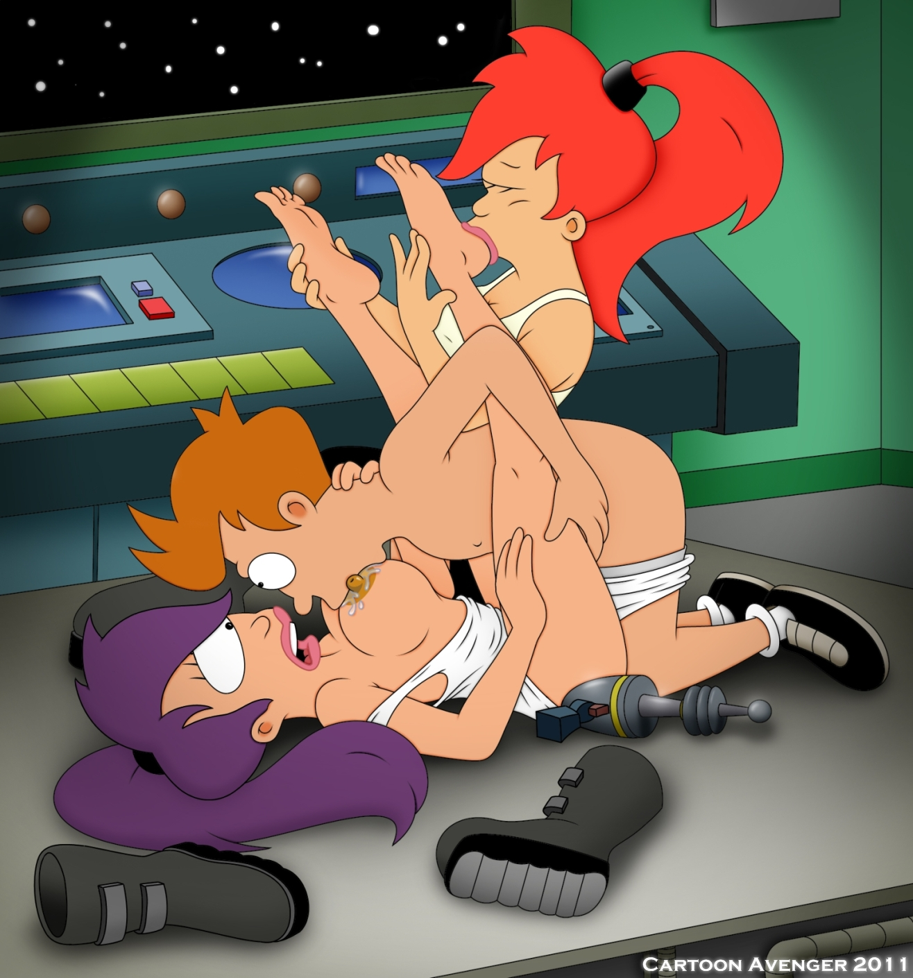 marge and leela naked quash have