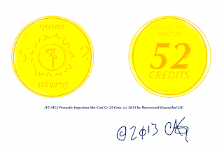 Permatic Imperium Mis-Cast Cr 25 Coin
