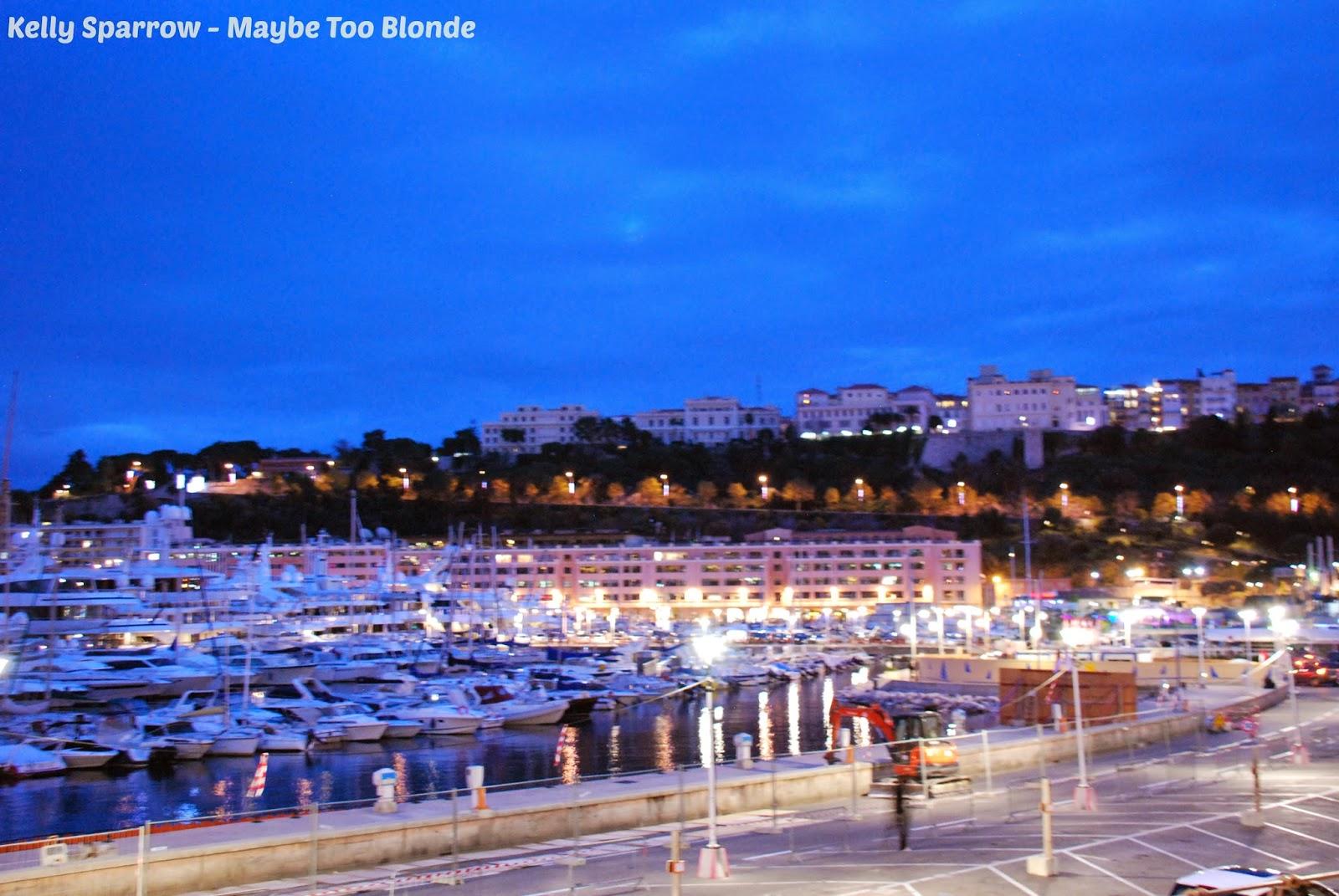 Monaco ocean front bay
