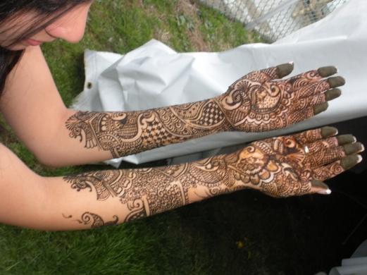 Henna Tattoo Jersey City Nj : Henna tattoos nj bridal makeup jersey city ear piercing