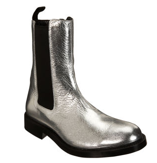 balmain silver chelsea boots. Black Bedroom Furniture Sets. Home Design Ideas