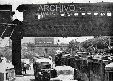 Puente Pacífico, FC.San Martín - Palermo 1954.