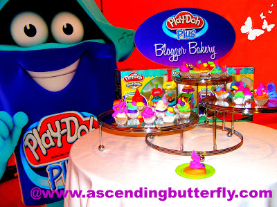 Blogger Bakery Table Display at Hasbro Toy Fair 2013 Event in New York City