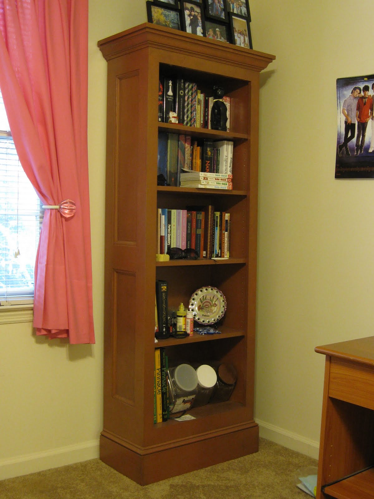 bookshelves woodworking plans