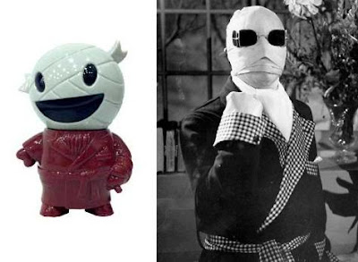 The Pocket Invisiboy Vinyl Figure by Super7 & The Invisible Man