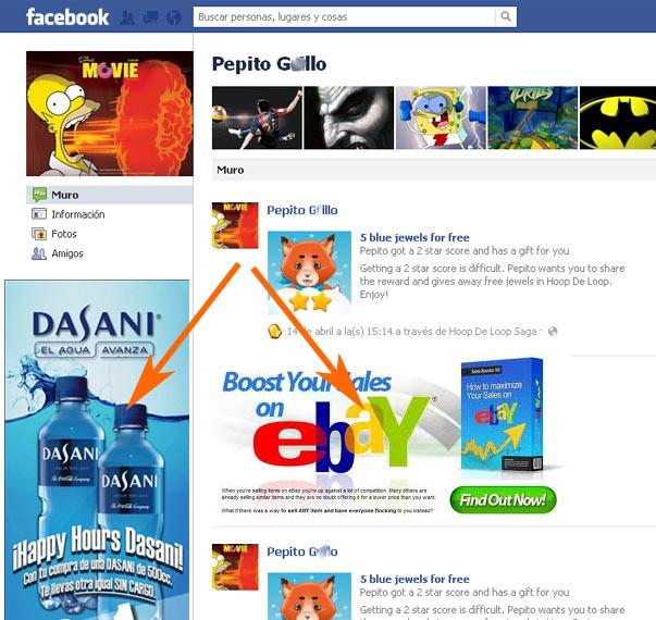 Adware en Facebook