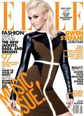 Gwen Stefani en couv' d'Elle Magazine