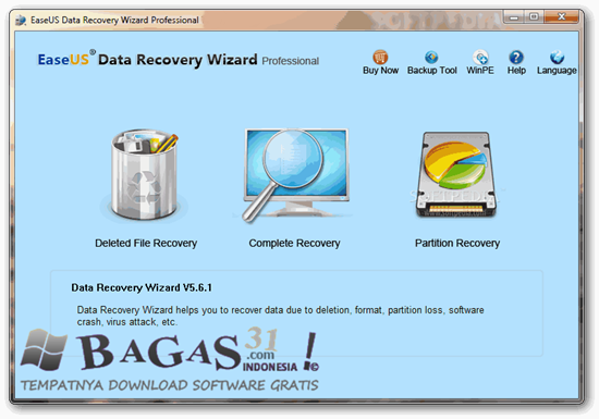 EaseUS Data Recovery Wizard Professional 5.8.0 Full