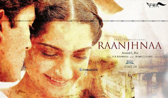 "Sonam Kapoor in ""Raanjhnaa""  first look wallpaper"
